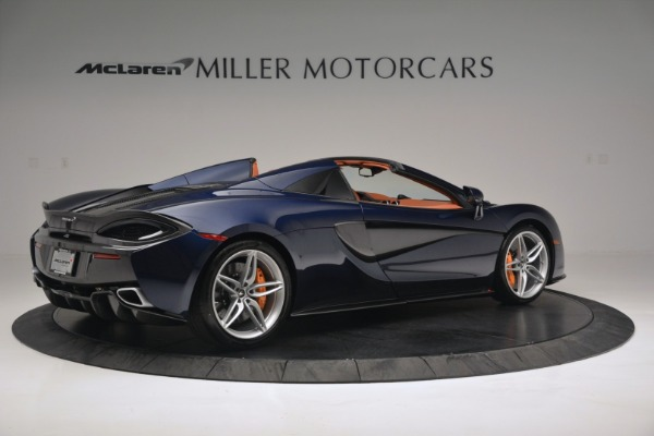 New 2019 McLaren 570S Spider Convertible for sale Sold at Bentley Greenwich in Greenwich CT 06830 8