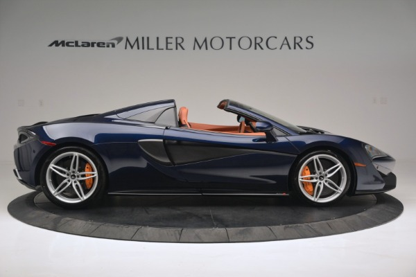 New 2019 McLaren 570S Spider Convertible for sale Sold at Bentley Greenwich in Greenwich CT 06830 9