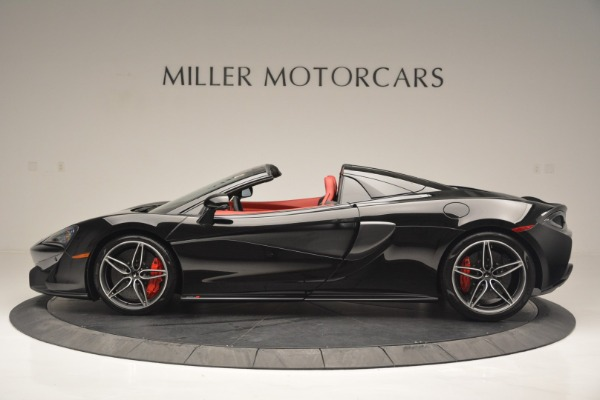 New 2019 McLaren 570S Convertible for sale Sold at Bentley Greenwich in Greenwich CT 06830 3