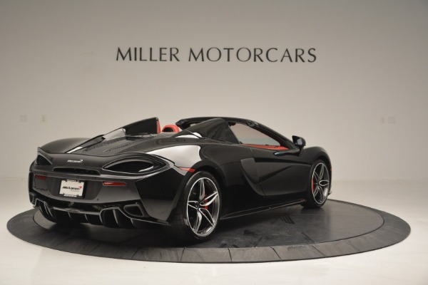 New 2019 McLaren 570S Convertible for sale Sold at Bentley Greenwich in Greenwich CT 06830 7