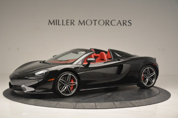 New 2019 McLaren 570S Convertible for sale Sold at Bentley Greenwich in Greenwich CT 06830 1