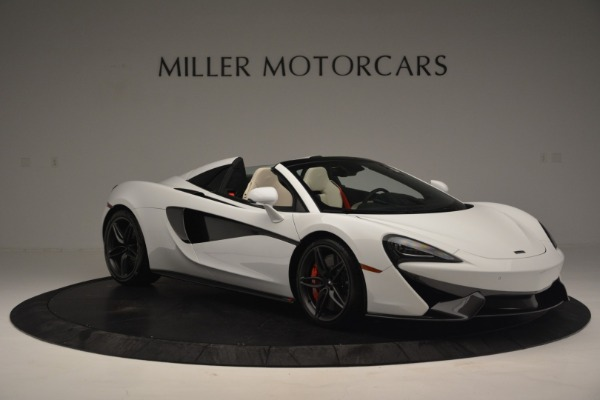 New 2019 McLaren 570S Spider Convertible for sale Sold at Bentley Greenwich in Greenwich CT 06830 11