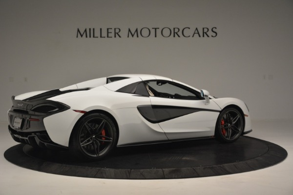 New 2019 McLaren 570S Spider Convertible for sale Sold at Bentley Greenwich in Greenwich CT 06830 19