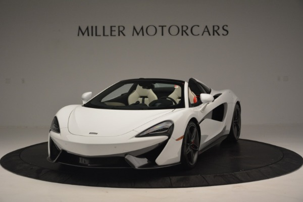 New 2019 McLaren 570S Spider Convertible for sale Sold at Bentley Greenwich in Greenwich CT 06830 2