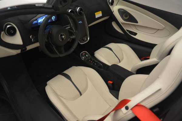 New 2019 McLaren 570S Spider Convertible for sale Sold at Bentley Greenwich in Greenwich CT 06830 23