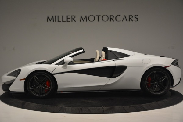 New 2019 McLaren 570S Spider Convertible for sale Sold at Bentley Greenwich in Greenwich CT 06830 3