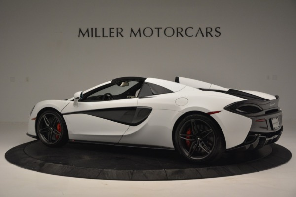 New 2019 McLaren 570S Spider Convertible for sale Sold at Bentley Greenwich in Greenwich CT 06830 4