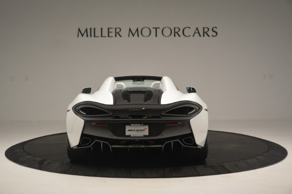 New 2019 McLaren 570S Spider Convertible for sale Sold at Bentley Greenwich in Greenwich CT 06830 6
