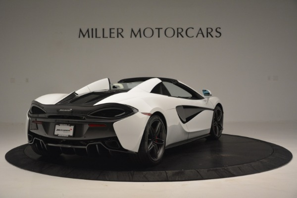 New 2019 McLaren 570S Spider Convertible for sale Sold at Bentley Greenwich in Greenwich CT 06830 7