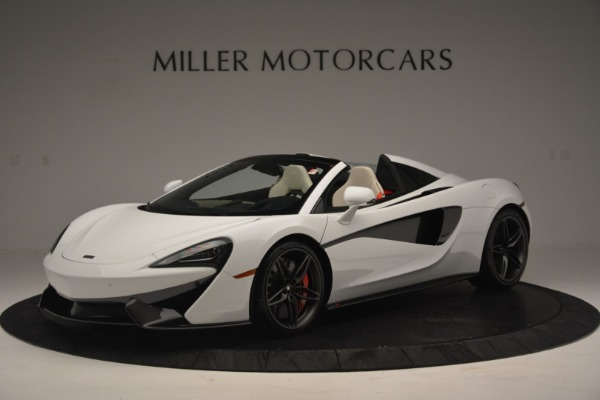 New 2019 McLaren 570S Spider Convertible for sale Sold at Bentley Greenwich in Greenwich CT 06830 1