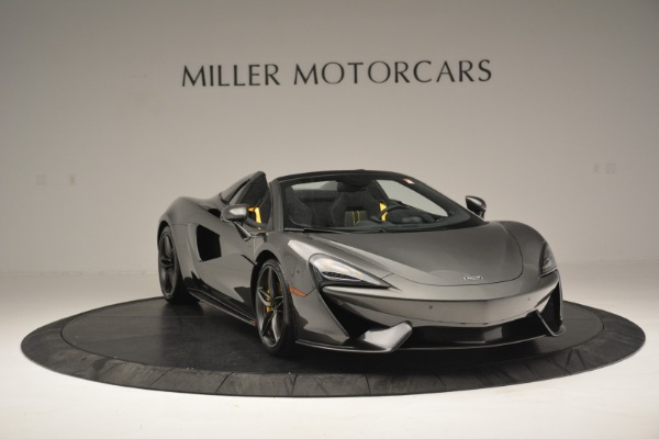 Used 2019 McLaren 570S Spider Convertible for sale $189,990 at Bentley Greenwich in Greenwich CT 06830 11