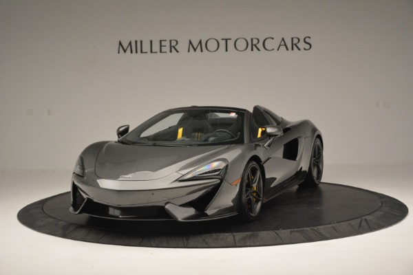 Used 2019 McLaren 570S Spider Convertible for sale $189,990 at Bentley Greenwich in Greenwich CT 06830 2