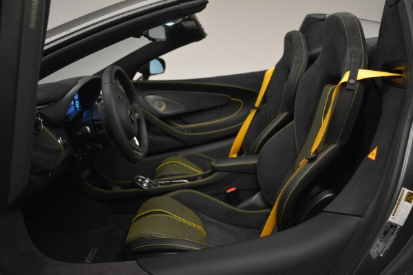 Used 2019 McLaren 570S Spider Convertible for sale $189,990 at Bentley Greenwich in Greenwich CT 06830 24