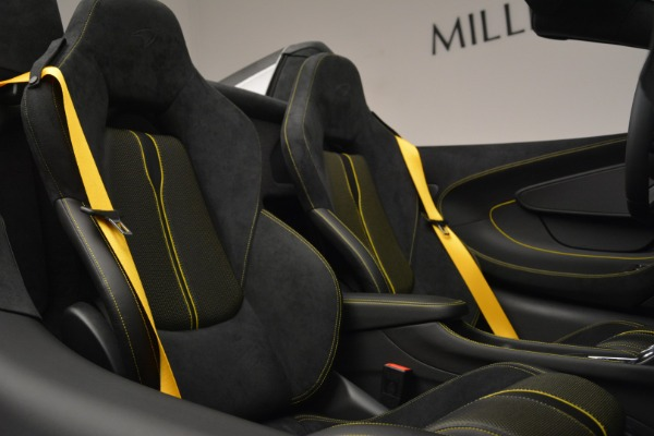 Used 2019 McLaren 570S Spider Convertible for sale $189,990 at Bentley Greenwich in Greenwich CT 06830 27