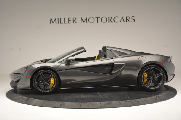Used 2019 McLaren 570S Spider Convertible for sale $189,990 at Bentley Greenwich in Greenwich CT 06830 3