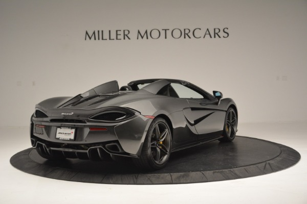 Used 2019 McLaren 570S Spider Convertible for sale $189,990 at Bentley Greenwich in Greenwich CT 06830 7