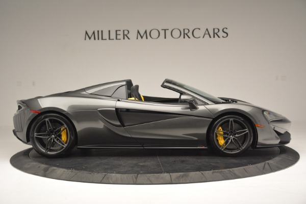 Used 2019 McLaren 570S Spider Convertible for sale $189,990 at Bentley Greenwich in Greenwich CT 06830 9