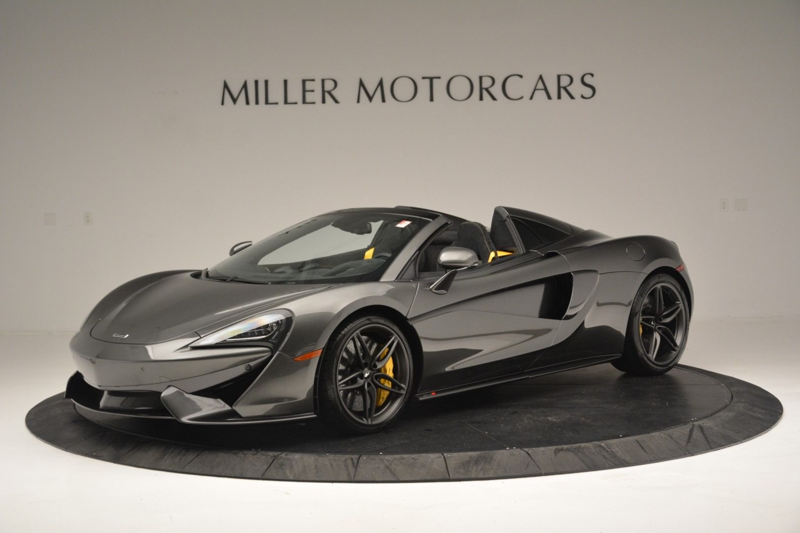 Used 2019 McLaren 570S Spider Convertible for sale $189,990 at Bentley Greenwich in Greenwich CT 06830 1