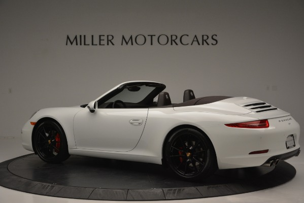 Used 2015 Porsche 911 Carrera S for sale Sold at Bentley Greenwich in Greenwich CT 06830 4