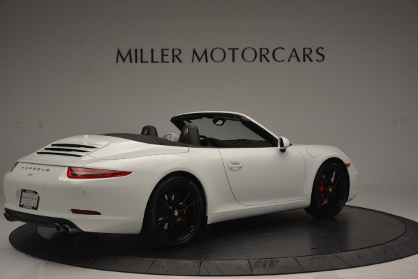 Used 2015 Porsche 911 Carrera S for sale Sold at Bentley Greenwich in Greenwich CT 06830 8