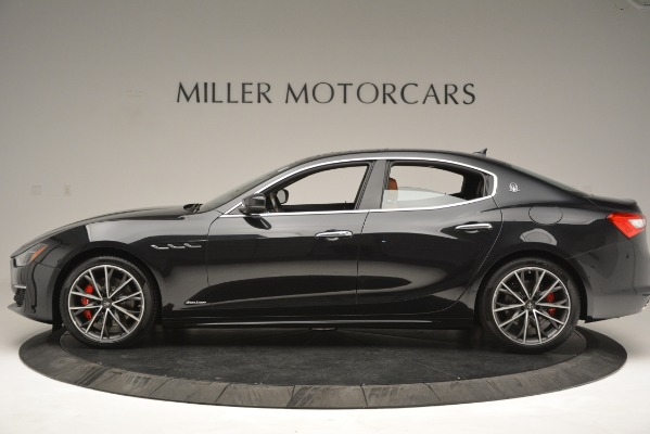 New 2019 Maserati Ghibli S Q4 GranLusso for sale Sold at Bentley Greenwich in Greenwich CT 06830 3