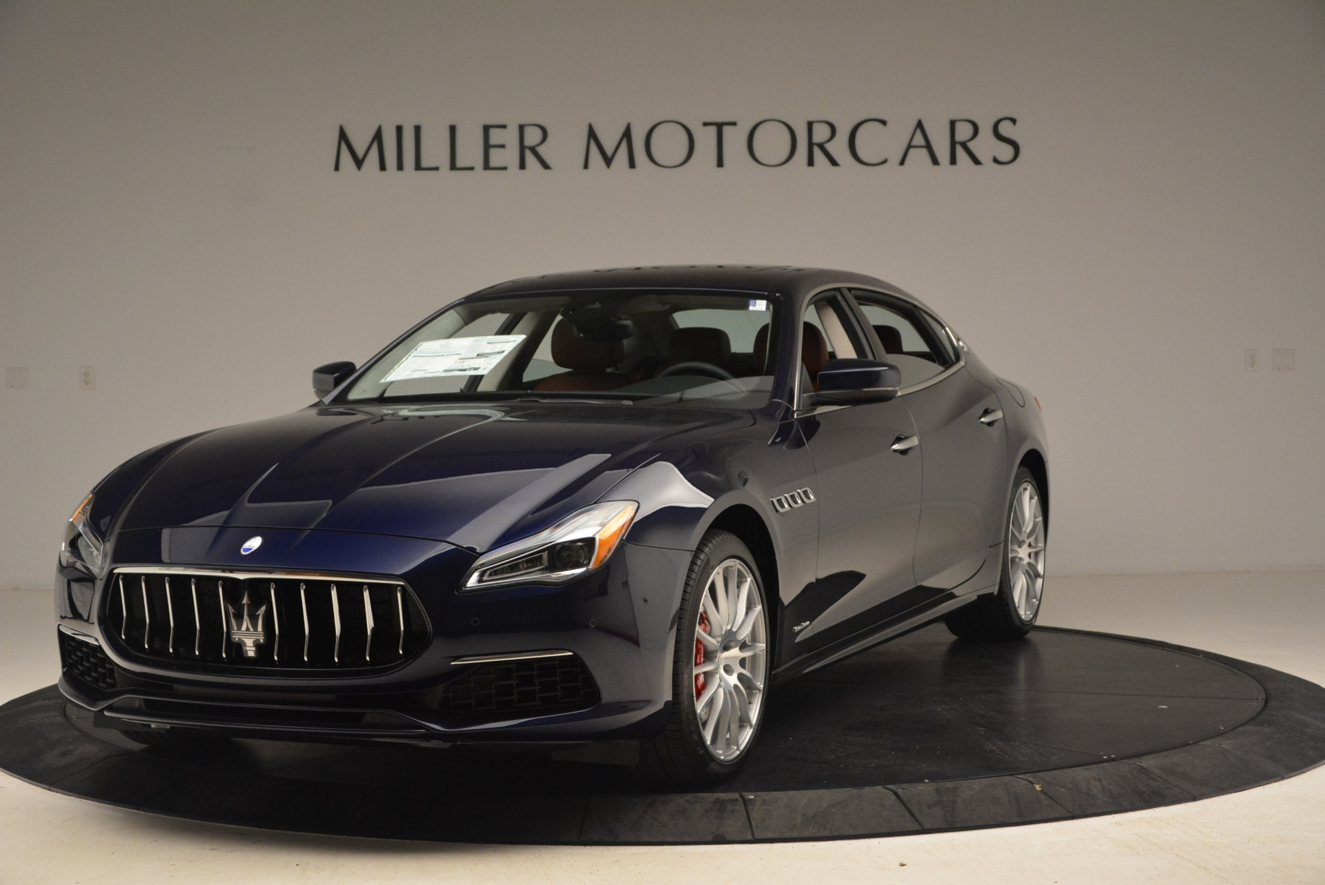 New 2019 Maserati Quattroporte S Q4 GranSport for sale $125,765 at Bentley Greenwich in Greenwich CT 06830 1