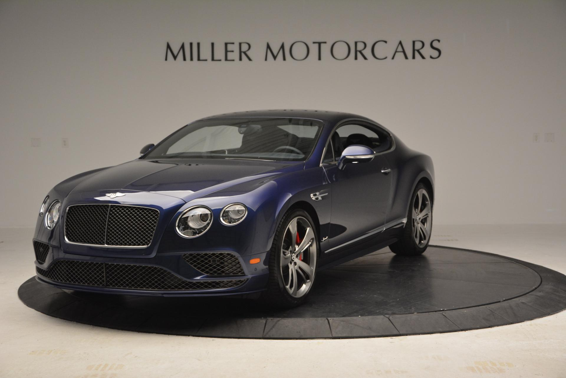 Used 2016 Bentley Continental GT Speed GT Speed for sale Sold at Bentley Greenwich in Greenwich CT 06830 1