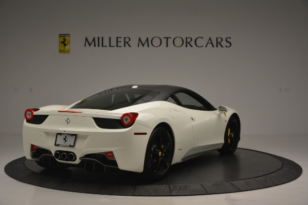 Used 2010 Ferrari 458 Italia for sale Sold at Bentley Greenwich in Greenwich CT 06830 7