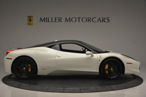 Used 2010 Ferrari 458 Italia for sale Sold at Bentley Greenwich in Greenwich CT 06830 9