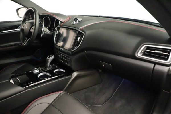 Used 2019 Maserati Ghibli S Q4 GranSport for sale $64,900 at Bentley Greenwich in Greenwich CT 06830 22