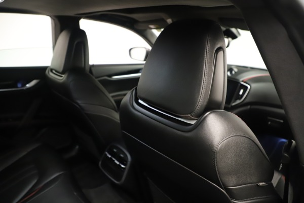 Used 2019 Maserati Ghibli S Q4 GranSport for sale $64,900 at Bentley Greenwich in Greenwich CT 06830 28