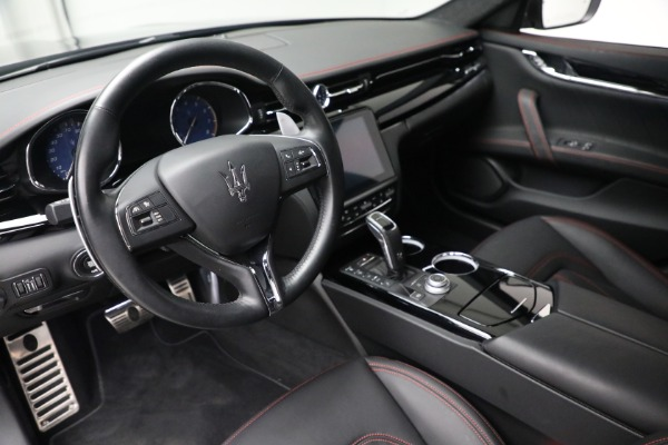 Used 2019 Maserati Quattroporte S Q4 GranLusso for sale $68,900 at Bentley Greenwich in Greenwich CT 06830 14