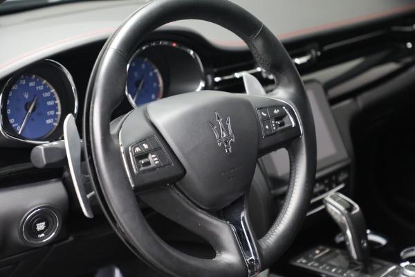 Used 2019 Maserati Quattroporte S Q4 GranLusso for sale $68,900 at Bentley Greenwich in Greenwich CT 06830 17