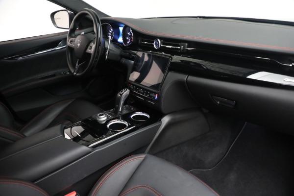 Used 2019 Maserati Quattroporte S Q4 GranLusso for sale $68,900 at Bentley Greenwich in Greenwich CT 06830 26