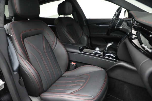 Used 2019 Maserati Quattroporte S Q4 GranLusso for sale $68,900 at Bentley Greenwich in Greenwich CT 06830 28