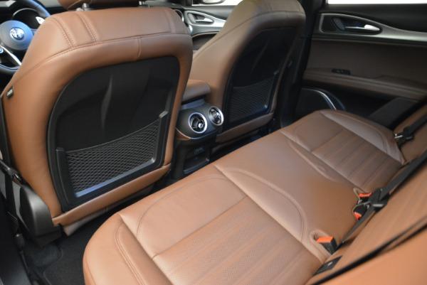 New 2018 Alfa Romeo Stelvio Ti Sport Q4 for sale Sold at Bentley Greenwich in Greenwich CT 06830 16