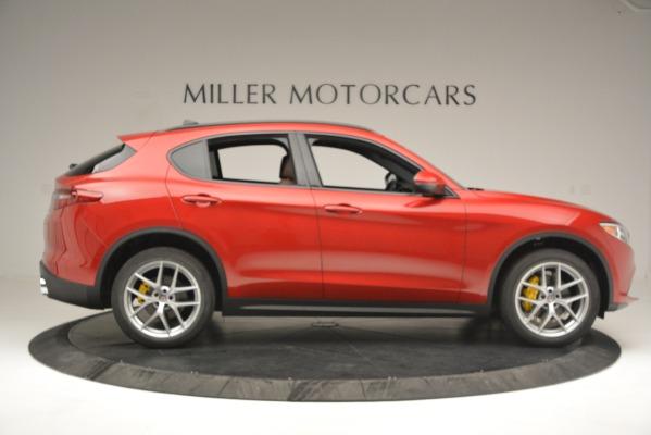 New 2018 Alfa Romeo Stelvio Ti Sport Q4 for sale Sold at Bentley Greenwich in Greenwich CT 06830 9