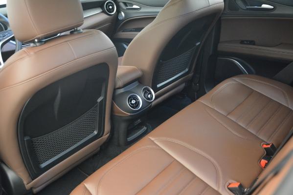 New 2018 Alfa Romeo Stelvio Ti Lusso Q4 for sale Sold at Bentley Greenwich in Greenwich CT 06830 16