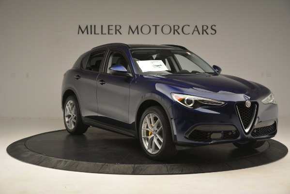 New 2019 Alfa Romeo Stelvio SPORT AWD for sale Sold at Bentley Greenwich in Greenwich CT 06830 11
