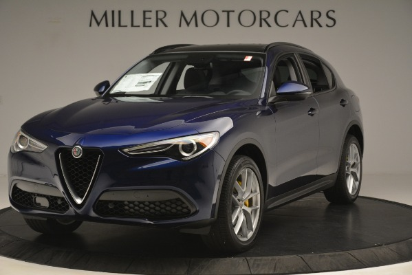 New 2019 Alfa Romeo Stelvio SPORT AWD for sale Sold at Bentley Greenwich in Greenwich CT 06830 1