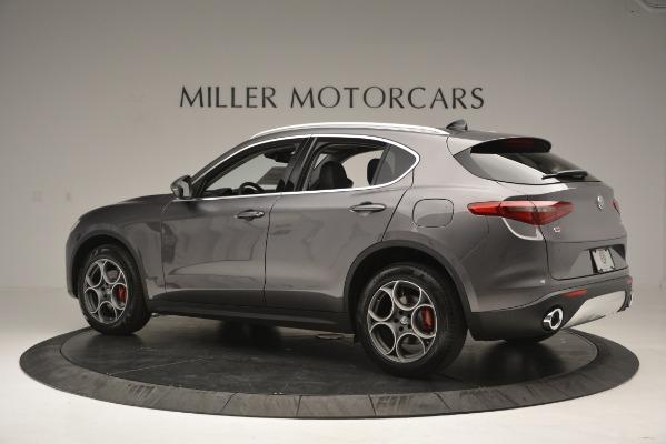 New 2019 Alfa Romeo Stelvio Q4 for sale Sold at Bentley Greenwich in Greenwich CT 06830 5