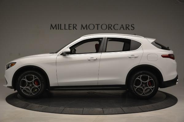 New 2019 Alfa Romeo Stelvio Q4 for sale Sold at Bentley Greenwich in Greenwich CT 06830 3