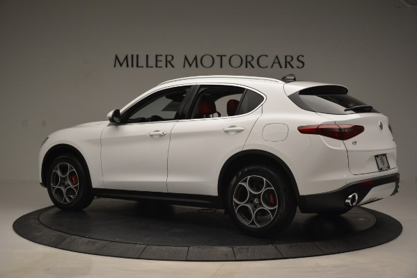 New 2019 Alfa Romeo Stelvio Q4 for sale Sold at Bentley Greenwich in Greenwich CT 06830 4