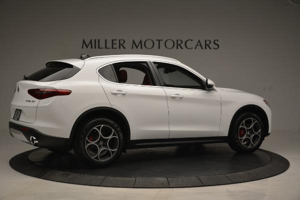 New 2019 Alfa Romeo Stelvio Q4 for sale Sold at Bentley Greenwich in Greenwich CT 06830 8