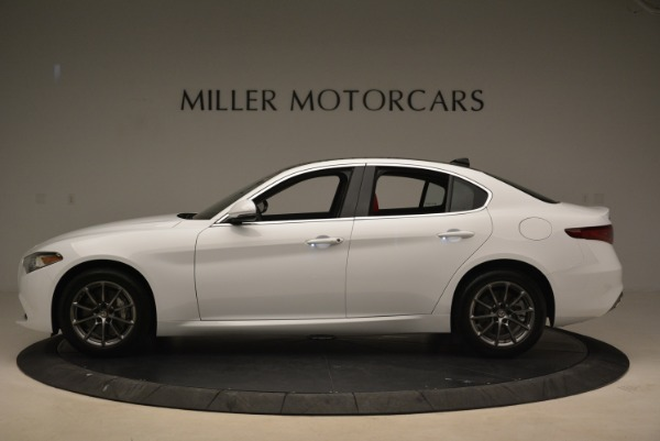 New 2019 Alfa Romeo Giulia Q4 for sale Sold at Bentley Greenwich in Greenwich CT 06830 3