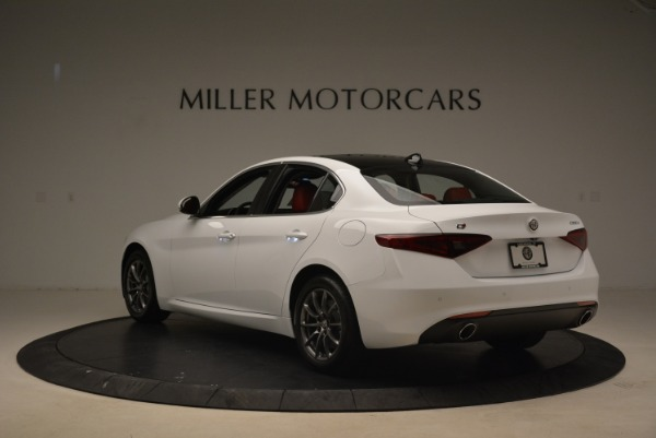 New 2019 Alfa Romeo Giulia Q4 for sale Sold at Bentley Greenwich in Greenwich CT 06830 5