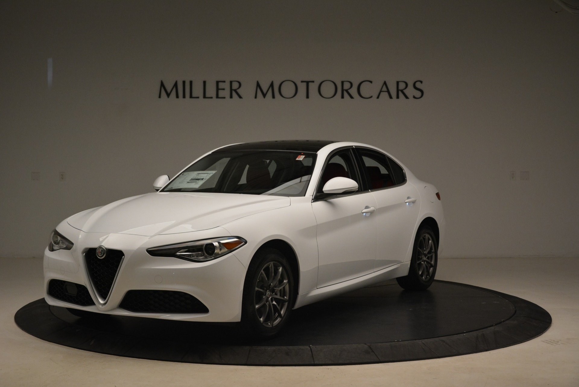 New 2019 Alfa Romeo Giulia Q4 for sale Sold at Bentley Greenwich in Greenwich CT 06830 1