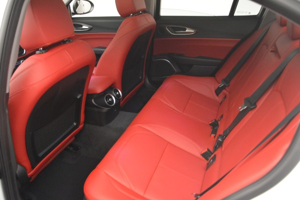 New 2019 Alfa Romeo Giulia Ti Q4 for sale Sold at Bentley Greenwich in Greenwich CT 06830 19