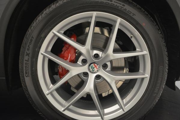 New 2019 Alfa Romeo Stelvio Ti Sport Q4 for sale Sold at Bentley Greenwich in Greenwich CT 06830 25