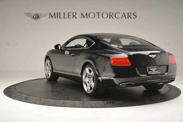 Used 2012 Bentley Continental GT W12 for sale Sold at Bentley Greenwich in Greenwich CT 06830 6